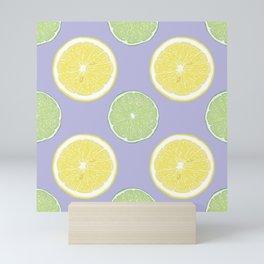 Lemon Lime Lavender Mini Art Print