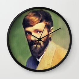 D. H. Lawrence, Literary Legend Wall Clock