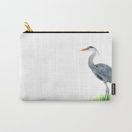 """""""Tall and Graceful"""" the Blue Heron by Teresa Thompson Carry-All Pouch"""