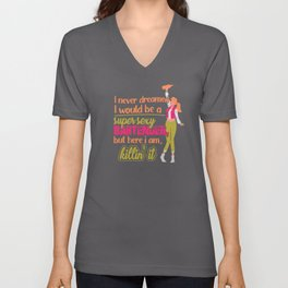 Bartender Party Cocktail Sexy Pun Unisex V-Neck