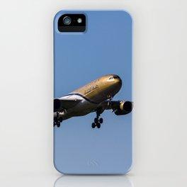 Gulf Air Airbus A330 iPhone Case