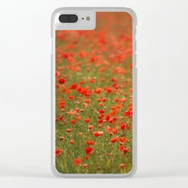 In Flanders Fields Clear iPhone Case