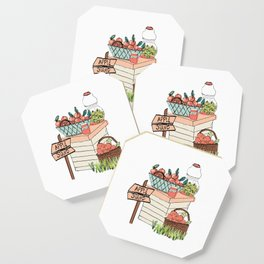 Apple Stand Coaster