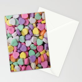 Sugar Hearts Stationery Cards