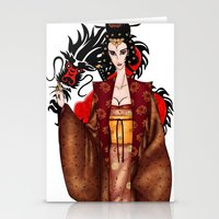 mulan Stationery Cards featuring Mulan by artwaste