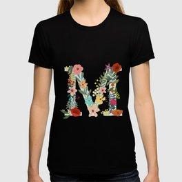 Monogram Letter M T-shirt
