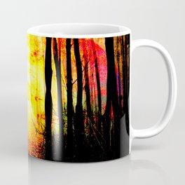 Path To Imagination Golden Coffee Mug