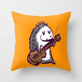 headgehog Throw Pillow