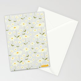 Swedish daisy pattern Stationery Cards