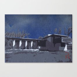 Usonian 3 Canvas Print