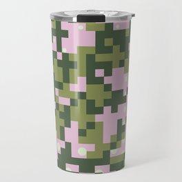 Camo pixel Travel Mug