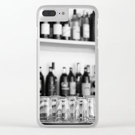 Liquor bottles Clear iPhone Case