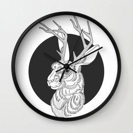The Jackelope Wall Clock