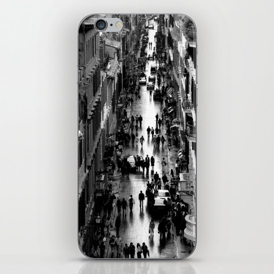 Rome, view from Spanish steps iPhone & iPod Skin