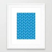 escher Framed Art Prints featuring Escher #008 by rob art | simple