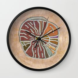 Tribal Maps - Magical Mazes #03 Wall Clock