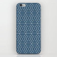 blue hex iPhone & iPod Skin