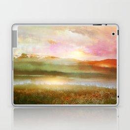 Sunset and flowers Laptop & iPad Skin