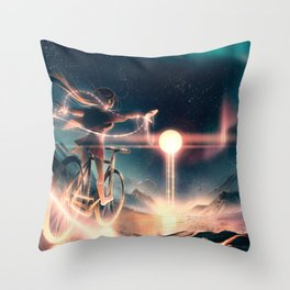 Lionhearted Throw Pillow