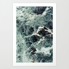 MARBLE 3 - for iphone Art Print