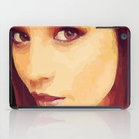 caleb troy iPad Cases featuring Ellen of Troy by iArtMike