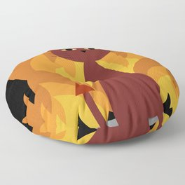 Hell Cat Floor Pillow
