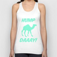 tiffany Tank Tops featuring Hump Day Tiffany Camel by RexLambo