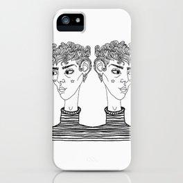 Double Dare iPhone Case