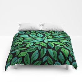 Night Leaves Comforters