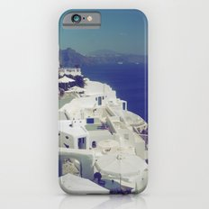 Santorini White & Blue Slim Case iPhone 6