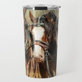 Clydesdale Conversation Travel Mug