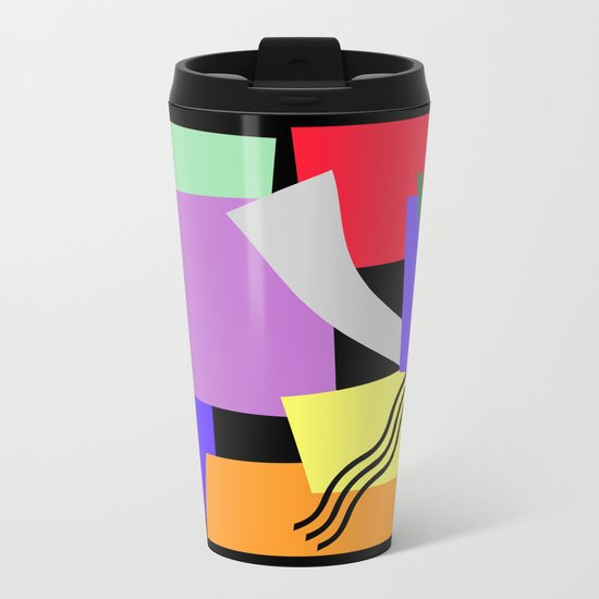 DON'T TOUCH Metal Travel Mug