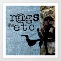 rags_etc2 Art Print