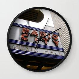 Radio City - 2009 Wall Clock
