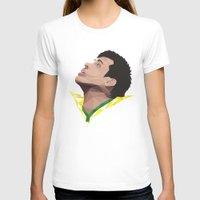 neymar T-shirts featuring Neymar Junior Brazil by CurrentFootball