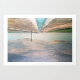 MM 205 . Sand Dunes x Country Road Art Print