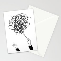 downbeat??  find my beat! Stationery Cards