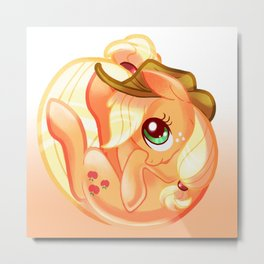 Applejack  Metal Print