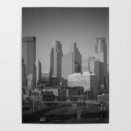 minneapolis minnesota skyline Poster