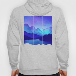 Cerulean Blue Mountains Hoody