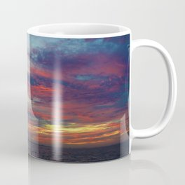 Fall sunset above Lake St. Clair, Canada Coffee Mug