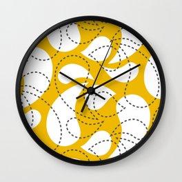 Birdsong Drops Wall Clock