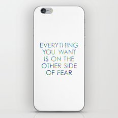 Everything You Want iPhone Skin