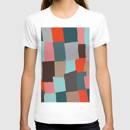 Memory patches T-shirt