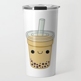 Chocolate Bubble Tea Travel Mug
