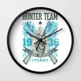 Hunter Team Bone Collector  Wall Clock