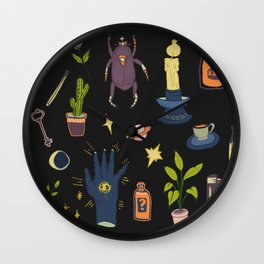 May Flash Sheet Witching Hour Wall Clock