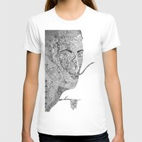 salvador dali T-shirts featuring Salvador Dali by Ina Spasova puzzle
