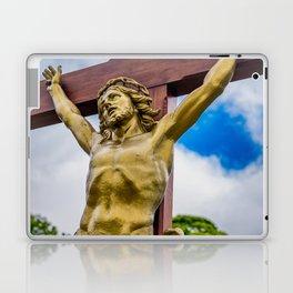 Crucifixion of Jesus Laptop & iPad Skin