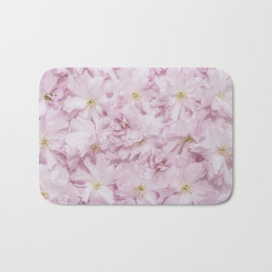 Sakura- cherryblossoms pattern Bath Mat